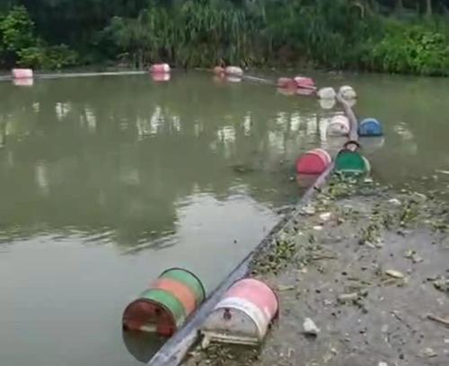 广西北海市鲤鱼湖清淤工程