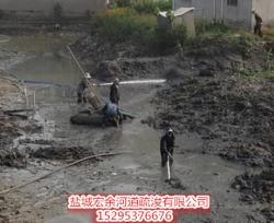 鹰潭鱼塘清淤