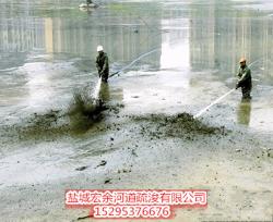 湖北鱼塘清淤
