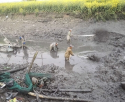 安徽河道清淤
