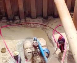 高架桥沉井基础施工