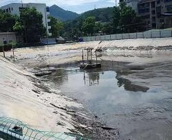 淤泥干化处理